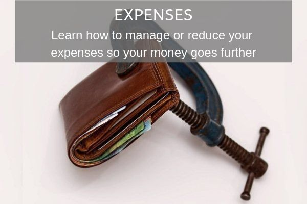 Things to Consider as a Digital Nomad - Expenses. Wallet being squeezed by clamp
